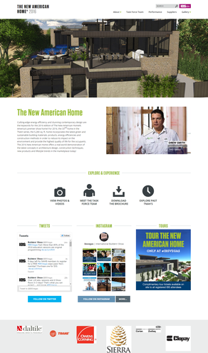 The New American Home