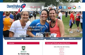 Charm City Run Homepage