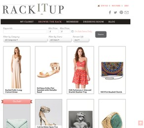 Rack It Up Browse the Rack page
