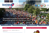 Charm City Run manages information for five locations of their running & walking specialty store.