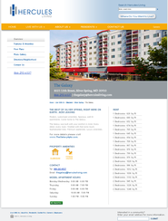 Hercules Living Mini Site Overview