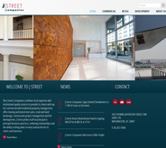 Real estate services website featuring responsive design & full CMS with dynamic content tools.